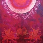 Drachensonne-40x40cm-avalonas-design-spirituelle-kunst